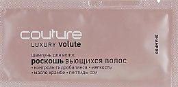 """Шампунь для волос """"Роскошь вьющихся волос"""" - Estel Professional Luxury Volute Haute Couture (пробник) — фото N1"""