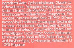 Крем для рук увлажняющий - The Orchid Skin Orchid Flower Peach Tok Tok Hand Cream — фото N4