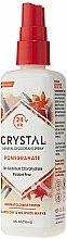 Дезодорант-спрей с ароматом Граната - Crystal Essence Deodorant Body Spray Pomegranate — фото N3