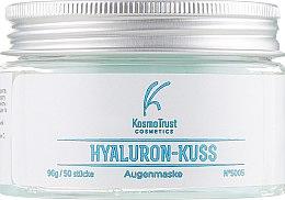 Духи, Парфюмерия, косметика Двойные патчи для нижнего и верхнего века - KosmoTrust Cosmetics Hyaluron-Kuss