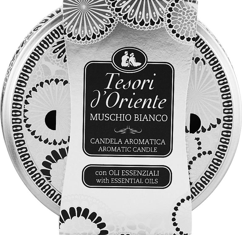 Tesori d`Oriente White Musk - Ароматическая свеча