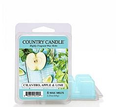 Духи, Парфюмерия, косметика Воск для аромалампы - Country Candle Cilantro, Apple & Lime Wax Melts