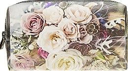 "Косметичка ""Розы"", белые - Devays Maker — фото N1"