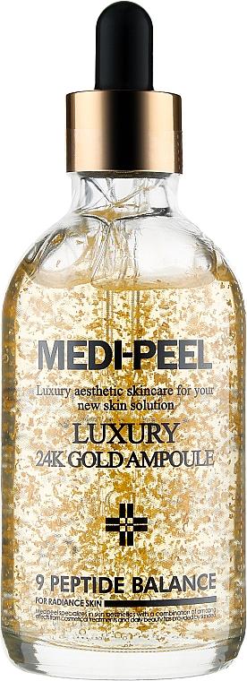 Антиоксидантная сыворотка для лица - Medi Peel Luxury 24K Gold Ampoule