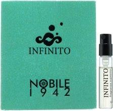 Духи, Парфюмерия, косметика Nobile 1942 Infinito - Парфюмированная вода (пробник)