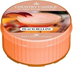 Духи, Парфюмерия, косметика Чайная свеча - Country Candle Peach Bellini Daylight