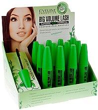 Духи, Парфюмерия, косметика Набор - Eveline Cosmetics Big Volume Lash Natural Bio Formula Mascara(mascara/9ml/12szt)