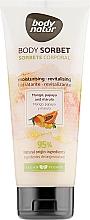 Духи, Парфюмерия, косметика Крем-сорбет для тела с манго, папайей и марулой - Body Natur Mango, Papaya and Marula Body Sorbet