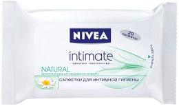 Серветки для інтимної гігієни Mild Comfort - Nivea Intimo Natural — фото N1