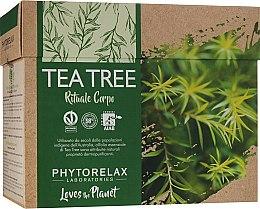 "Духи, Парфюмерия, косметика Набор ""Vegan & Organic Tea Tree"" - Phytorelax Laboratories (b/shower gel/250ml + b/lotion/250ml)"