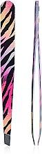 Парфумерія, косметика Пінцет для брів, різнокольоровий, Т351 - Rapira