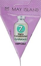 Духи, Парфюмерия, косметика Сыворотка с гиалуроновой кислотой - May Island 7 Days Highly Concentrated Hyaluronic Ampoule