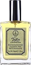 Духи, Парфюмерия, косметика Taylor Of Old Bond Street Sandalwood Alcohol Free Aftershave Lotion - Лосьон после бритья