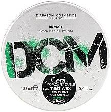 Духи, Парфюмерия, косметика Матовый воск для укладки волос сильной фиксации - DCM Matt Wax