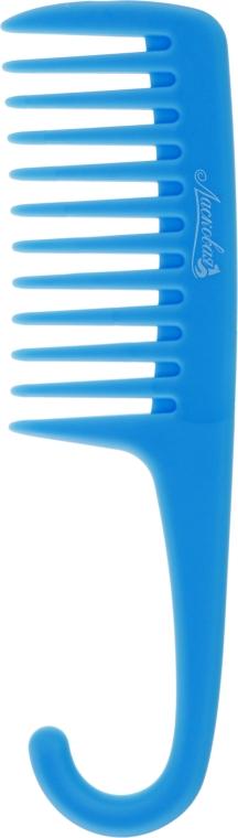 Гребень для нанесения масок и кондиционеров, синяя - Ласковая