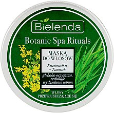 "Духи, Парфюмерия, косметика Маска ""Пажитник + Аир"" для жирных волос - Bielenda Botanic Spa Rituals Mask"