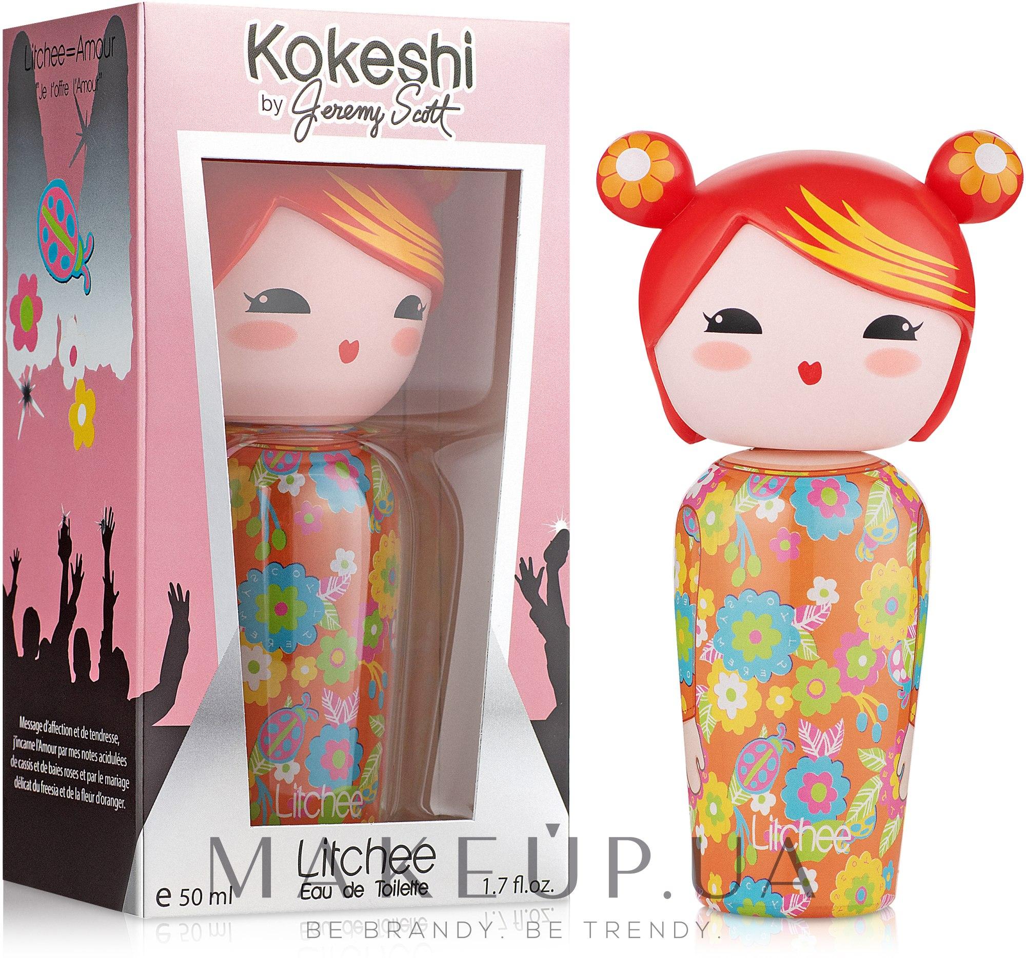 Kokeshi Parfums Litchee by Jeremy Scott - Туалетная вода — фото 50ml