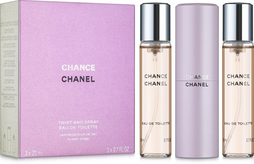 Chanel Chance - Запасные блоки для туалетной воды