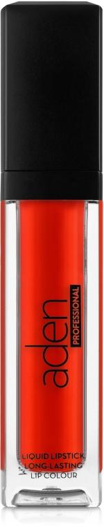 Матовая жидкая помада для губ - Aden Cosmetics Liquid Pro Lipstick