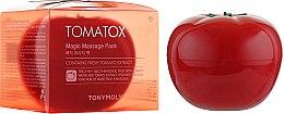 Духи, Парфюмерия, косметика Осветляющая томатная маска для лица - Tony Moly Tomatox Magic White Massage Pack