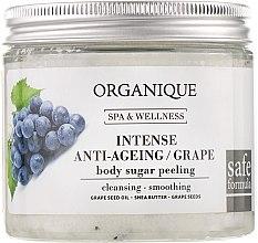 Духи, Парфюмерия, косметика РАСПРОДАЖА Антивозрастной сахарный пилинг для тела - Organique Spa Therapies Grape Sugar Peeling *