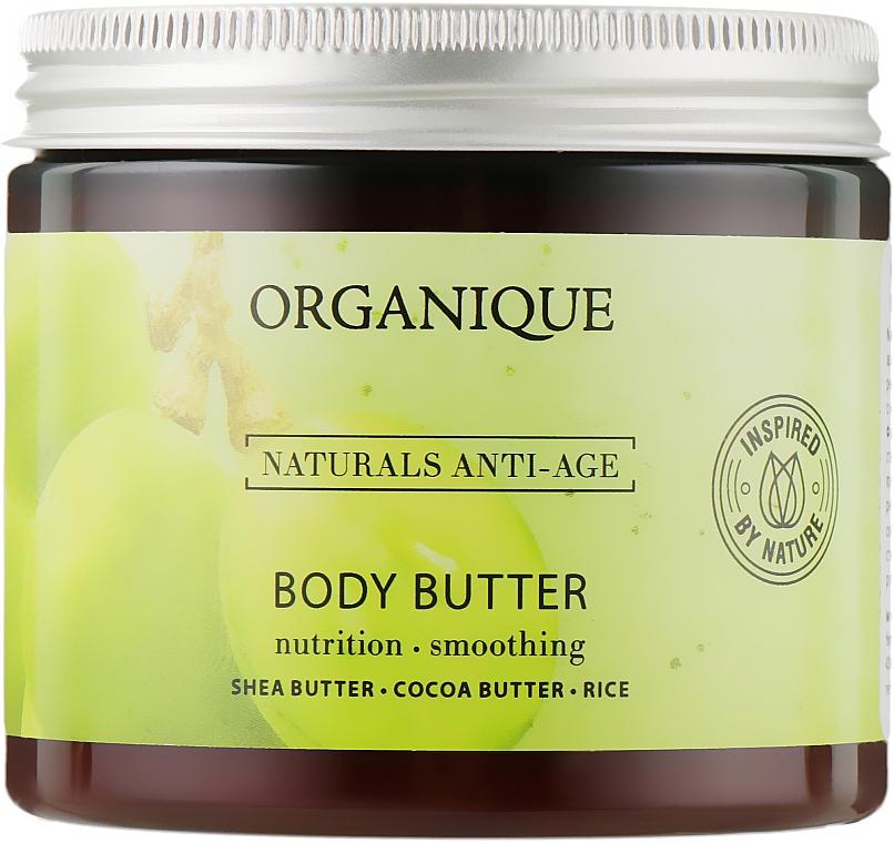 Антивозрастное восстанавливающее масло для тела - Organique Naturals Anti-Aging Body Butter