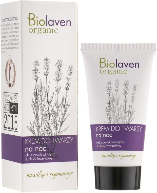 Ночной крем для лица - Biolaven Night Face Cream