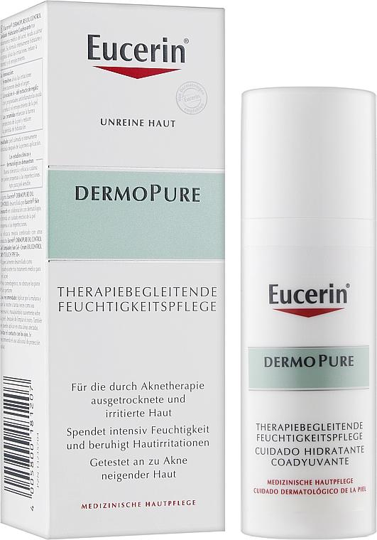 Успокаивающий крем для проблемной кожи - Eucerin DermoPurifyer Oil Control Adjunctive Soothing Cream