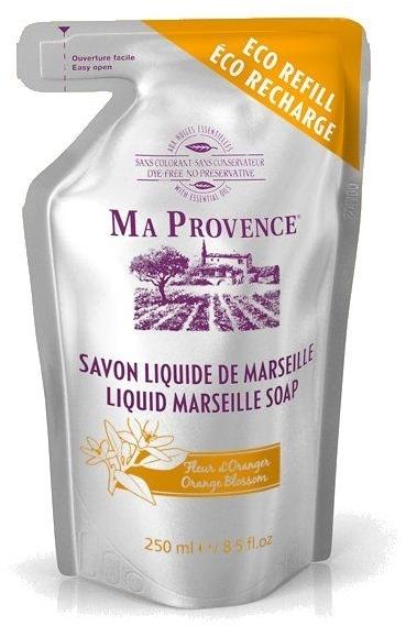 """Жидкое Марсельское мыло в экономичной упаковке """"Апельсин"""" - Ma Provence Liquid Marseille Soap Orange"""