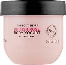 Духи, Парфюмерия, косметика Йогурт для тела - The Body Shop British Rose Body Yogurt