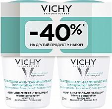 Духи, Парфюмерия, косметика Набор - Vichy Anti-Perspirant Treatment 48H (deo/50ml + deo/50ml)