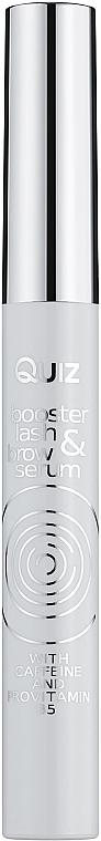 Сыворотка-бустер для ресниц и бровей - Quiz Cosmetics Booster Lash And Brow Serum