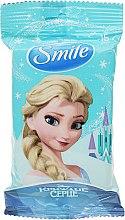 """Духи, Парфюмерия, косметика Влажные салфетки """"Frozen"""", 15шт, Эльза - Smile Ukraine Disney"""
