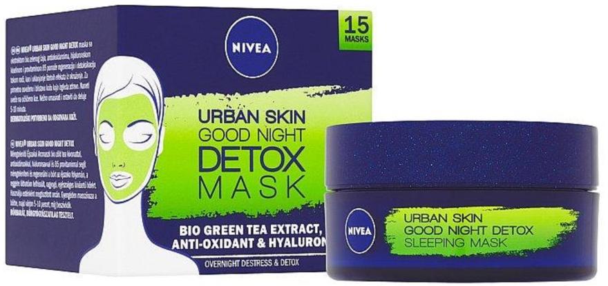 Детокс-маска - Nivea Urban Skin Detox Sleeping Mask