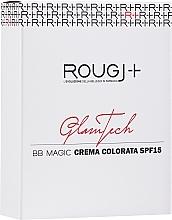 Духи, Парфюмерия, косметика BB-крем для лица - Rougj+ GlamTech BB Magic Tinted Cream SPF15