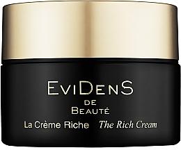 Духи, Парфюмерия, косметика Интенсивно восстанавливающий крем для лица - EviDenS De Beaute The Rich Cream