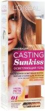 Духи, Парфюмерия, косметика Осветляющий гель для волос - L'Oreal Paris Casting Sunkiss