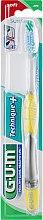 """Духи, Парфюмерия, косметика Зубная щетка, мягкая """"Technique+"""", желтая - G.U.M Soft Regular Toothbrush"""