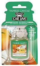 Духи, Парфюмерия, косметика Ароматизатор автомобильный - Yankee Candle Car Jar Ultimate Alfresco Afternoon