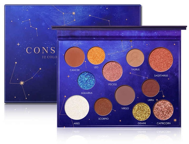 Палетка теней для век, 12 оттенков - Focallure 12 Shade Eyeshadow Palette Constellation Collection