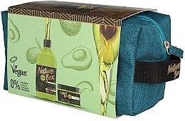 Духи, Парфюмерия, косметика Набор - Nature Box Avocado Oil (shm/385ml + mask/200ml + bag)