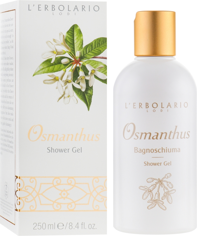"""Пена для ванны-гель для душа """"Османтус"""" - L'Erbolario Osmanthus Shower Gel"""