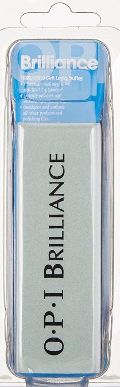 """Блок полировочный """"Бриллиантовый блеск"""" 1000/4000 грит - O.P.I. Filing Brilliance Block Single Pack"""