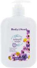 Духи, Парфюмерия, косметика Гель для интимной гигиены - Body&Soul Intimate Wash