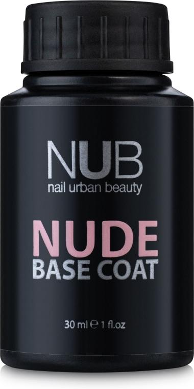 Каучуковая основа под гель-лак, 30 мл - NUB Base Coat Nude