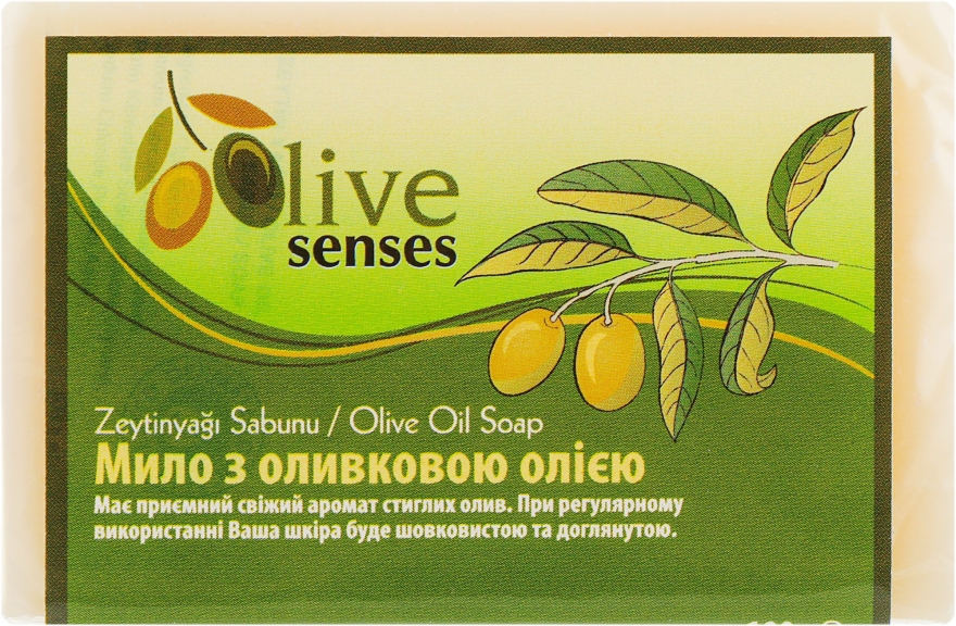 Растительное мыло с оливковым маслом - Selesta Life Soap