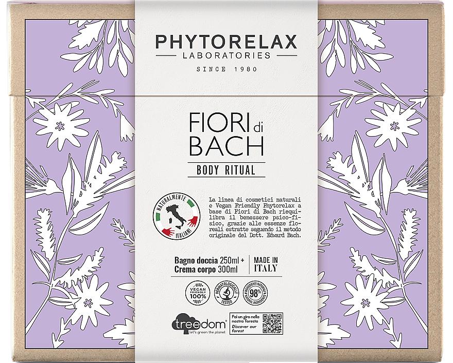 Набор - Phytorelax Laboratories Fiori Di Bach Body Ritual (sh/gel/250ml + b/cr/300ml)