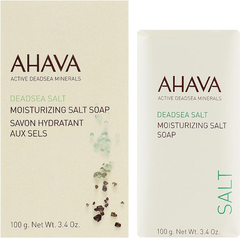 Мыло на основе соли Мертвого моря - Ahava Moisturizing Salt Soap