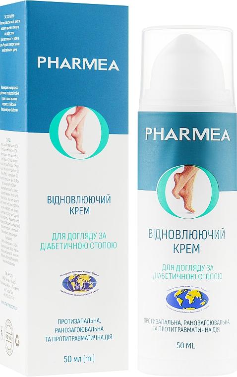 Восстанавливающий крем для ухода за диабетической стопой - Pharmea