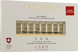 Духи, Парфюмерия, косметика Средство для восстановления роста волос у мужчин 500 - Crescina Re-Growth Anti-Hair Loss Complete Treatment 500 Man